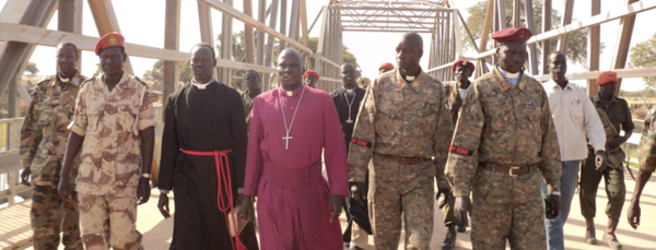 Bishop Abraham and Soldiers