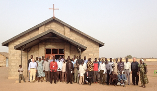 Bishop Abraham's Unfinished South Sudan Church
